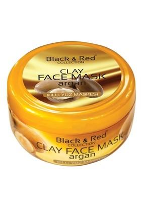 Black & Red Collection Argan Yağli Killi Yüz Maskesi 400 Gr