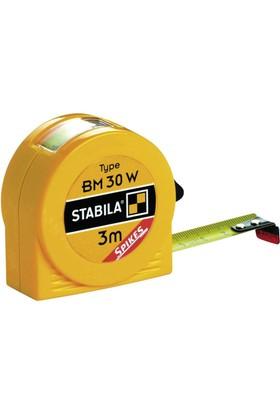 Stabila 16456 BM30 W Göstergeli Şerit Metre 3 Metre