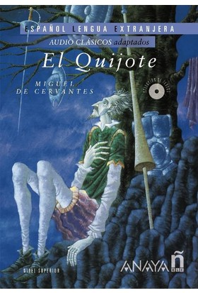 El Quijote +2 Cds (Audio Clasicos- Nivel Superior)
