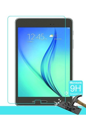 İdealTrend Samsung Galaxy TAB E T377 9H TEMPER Kırılmaz Cam Ekran Koruyucusu