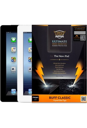 BUFF iPad 2-3-4 Darbe Emici Film