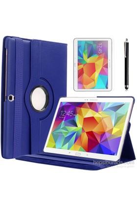 Kılıfland Samsung Galaxy Tab S T800 Kılıf 360 Standlı Lacivert+Film+Kalem