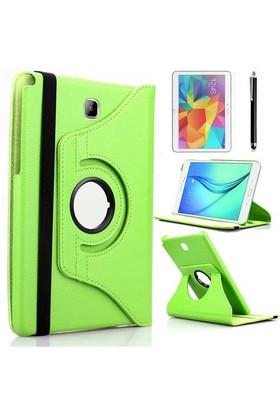 Kılıfland Samsung Galaxy Tab S2 T810 Kılıf 360 Standlı Yeşil+Film+Kalem