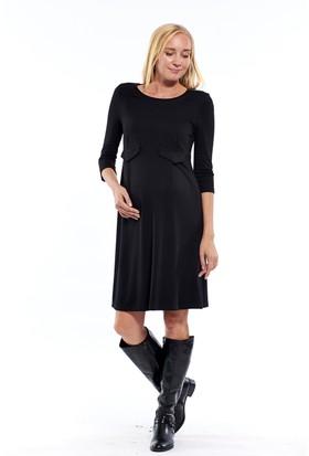 Motherway Cep Kapaklı Elbise