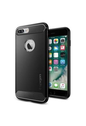 Spigen Apple iPhone 8 Plus - iPhone 7 Plus Kılıf Rugged Armor - 043CS20485