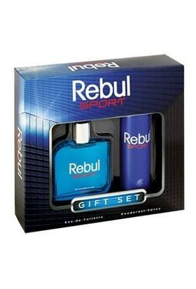 Rebul Sport Parfüm Deodorant Gift Set 100 Ml Edt 150 Ml Deodorant