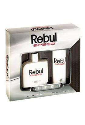 Rebul Speed Parfüm Set 100 Ml Edt. 150 Ml Deodorant Gift Set