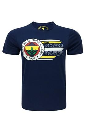Fenerium Çocuk Tribün Dinamik Çizgili Logo T-Shirt
