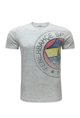 Fenerium Çocuk Tribün Eskitme Logo T-Shirt