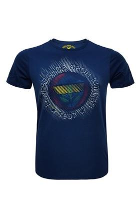 Fenerium Çocuk Tribün Yüksek Baskılı Logo T-Shirt