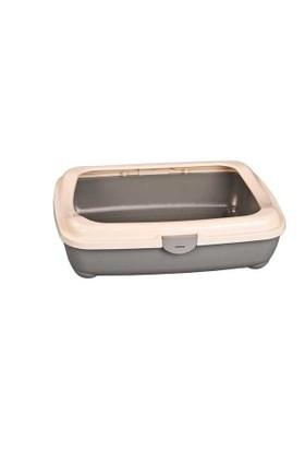 Afp 2204 Kitty Litter W Hinge Cover Kedi Tuvaleti 49X38X15Cm