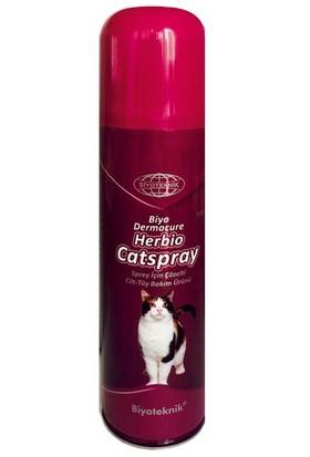 Biyoteknik Biyo Dermacure Herbio Catspray Kediler İçin Cilt-Tüy Bakım Ürünü