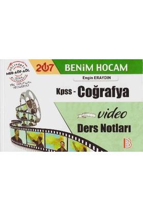 Benim Hocam Yayınları Kpss 2017 Coğrafya Video Ders Notları