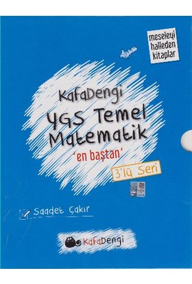 Eksen Yayınları Kafadengi Ygs Temel Matematik En Baştan 3'Lü Seri