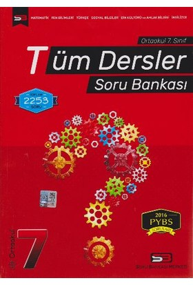 Soru Bankası Merkezi Tüm Dersler Soru Bankası 7