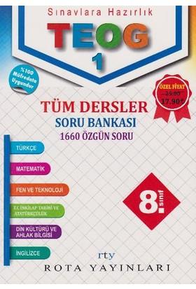 Rty Rota Yayınları 8. Sınıf Teog 1 Tüm Dersler Soru Bankası