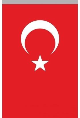 Koşan Türk Bayrağı 150x225 Cm Polyester Kumaş