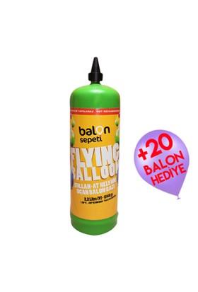 Balonsepeti Helyum Tüpü 2.2 Litre (CE Belgeli) + 20 Balon Hediyeli