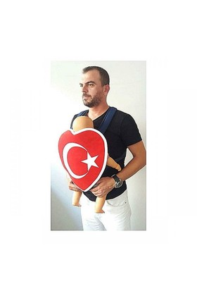 Baby Shada Türk Bayraklı Kanguru Kılıfı