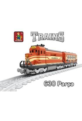 Bircan Oyuncak 630 Parça Tren Seti
