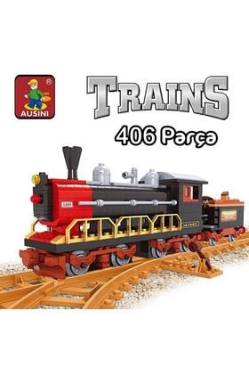 Bircan Oyuncak 406 Parça Tren Seti