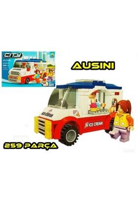 Ausini 259 Parça City Dondurma Arabası