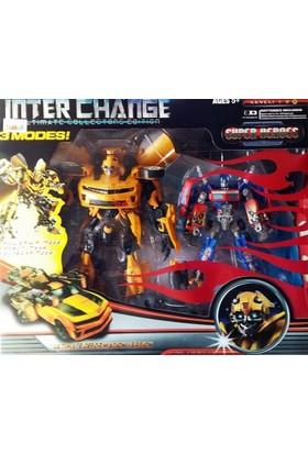 Super Heroes Değişen Robot 4097