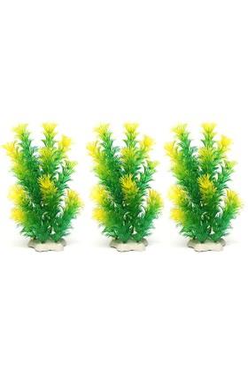 Huihuang 003 Plastik Bitki 3Lü