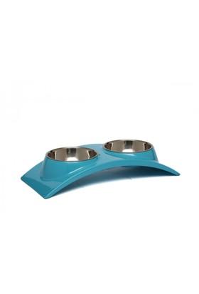 Super Design Ml990351 S Mavi Oval İkili Mama Kabı