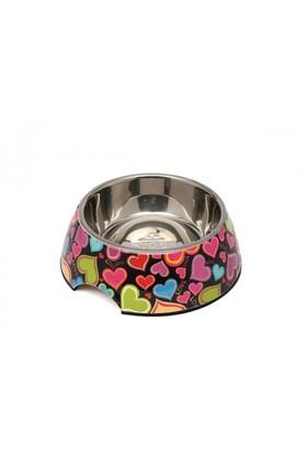 Super Design Ap990012 M Renkli Kalp Desen Melamin Mama Kabı
