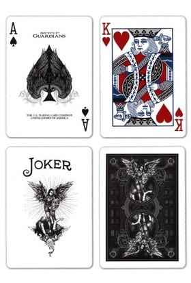 Bicycle Guardians Poker İskambil Oyun Kartı Kağıdı Destesi Koleksiyonluk