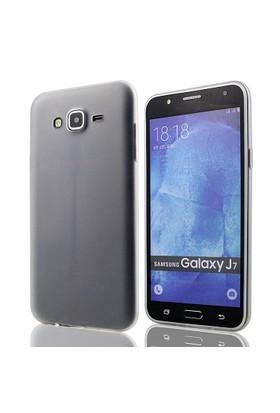 Tlfcom Samsung Galaxy J7 Silikon Kılıf Şeffaf