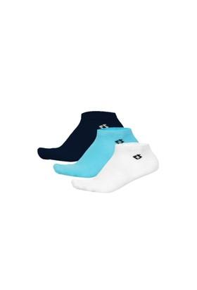 Korayspor 3'Lu Çorap Mavi Lacivert Beyaz