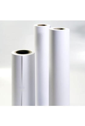 Sistem 914X50 Plotter Kağıdı A0 Ebatlarında 1. Hamur 80 Gr Rulo Kağıt 3 + 1 4 Lü Eko Paket