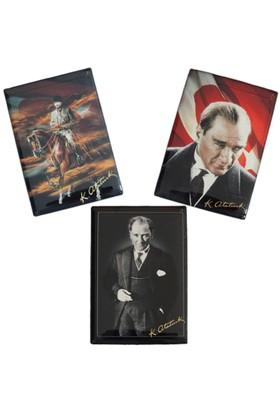 Myros Atatürk Temalı Myros 3'Lü Magnet Seti