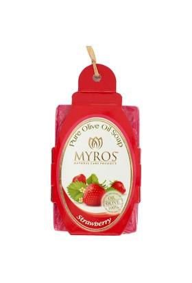 Myros Myros Çilek Özlü Zeytinyağı Sabunu