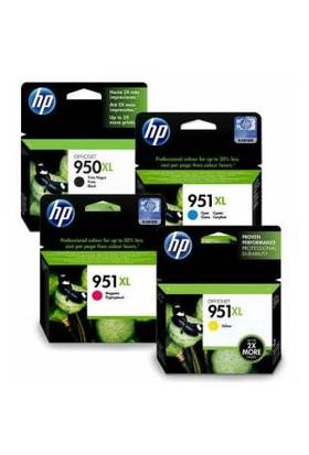 Hp 950XL/951XL Orjinal Kartuş Seti Pro 8620/8610/8600/8100/251Dw
