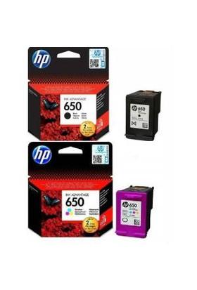 HP 650 Siyah-Renkli Kartuş Seti 1015/1515/1516/2515/2 516/2545