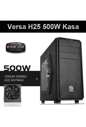 Thermaltake Versa H25 500W USB 3.0 Pencereli Kasa CA-3C2-50M1WE-00