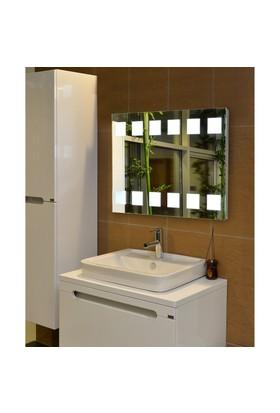 Guzel Decor Ledli Buğu Yapmayan Banyo Aynası 60X80