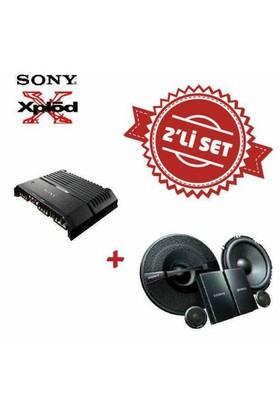 Sony XM-GS4 4 kanal Amfi ,XS-GS1621C Mid Takım Set