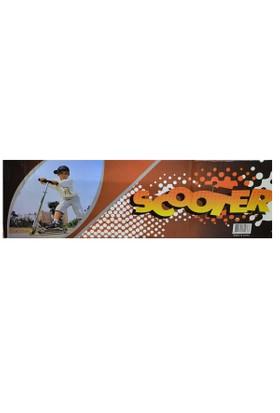 Can Oyuncak 006Sc Kutulu Metal Scooter 2 Teker