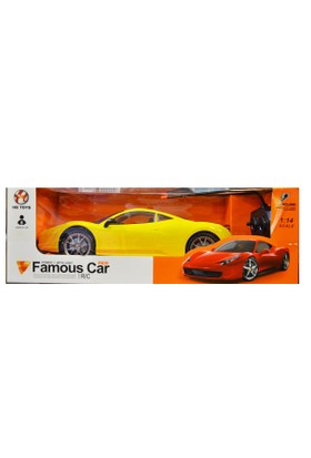 Can-Em Oyuncak 3005Rg By.Kutulu Şarjlı Uzaktan Kumandalı Araba