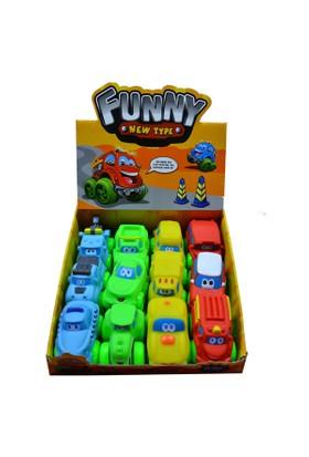 Erkol Oyuncak 0754-J Dx Soft Araba Cartoon Car
