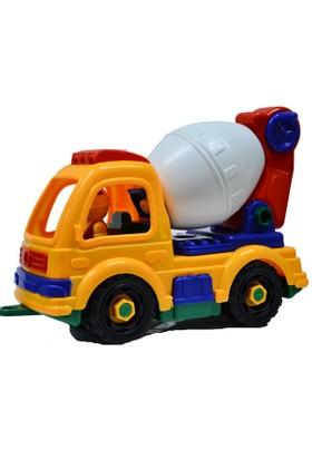 Erkol Oyuncak 846 866 Poşet Söktak İş Makinaları Truck