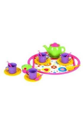 Mgs Oyuncak 0341 Tepsili Çay Seti