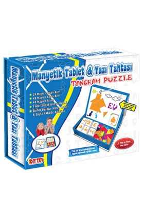 Taba Grup 3445 Manyetik Tablet Tangran Eğitim Seti