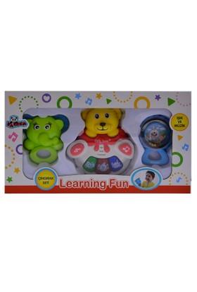 Vardem Oyuncak 35809 N34B Kutulu Çingıraklı Bebek Pianosu