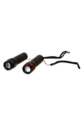 Vardem Oyuncak 1001Black Siyah Cep Feneri Flashlı Uzunluk Ayar