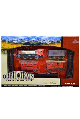 Vardem Oyuncak 1163N 2212-5 Kutulu 380Cm Orbıt Tren Set